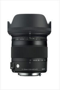 Sigma 17-70mm f2.8-4 Lens