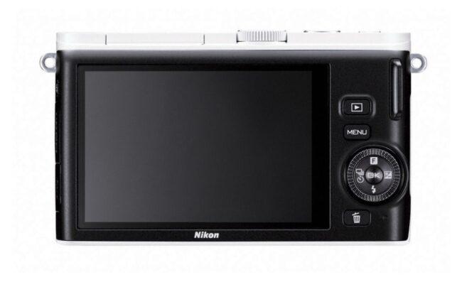 Nikon 1 J3 Rear