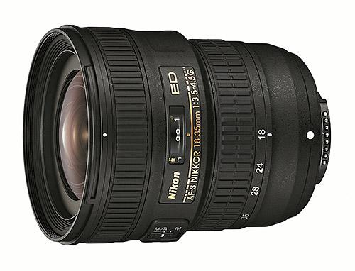Nikon 18-35mm f/3.5-4.5G ED