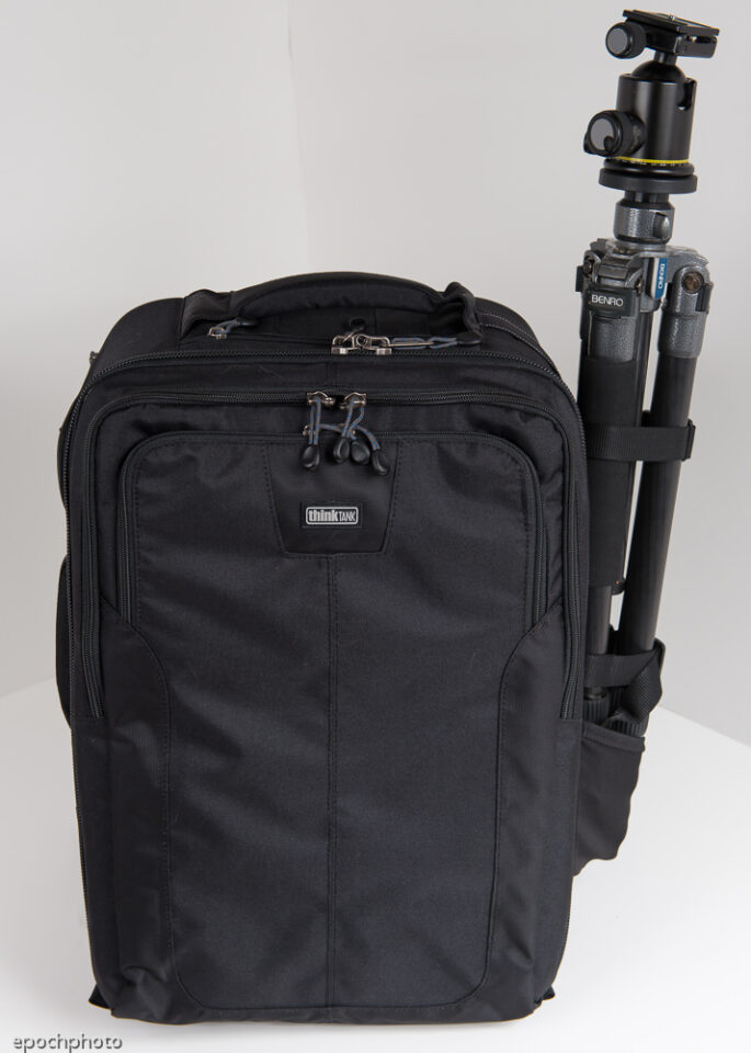 Airport Accelerator Backpack with large tripod