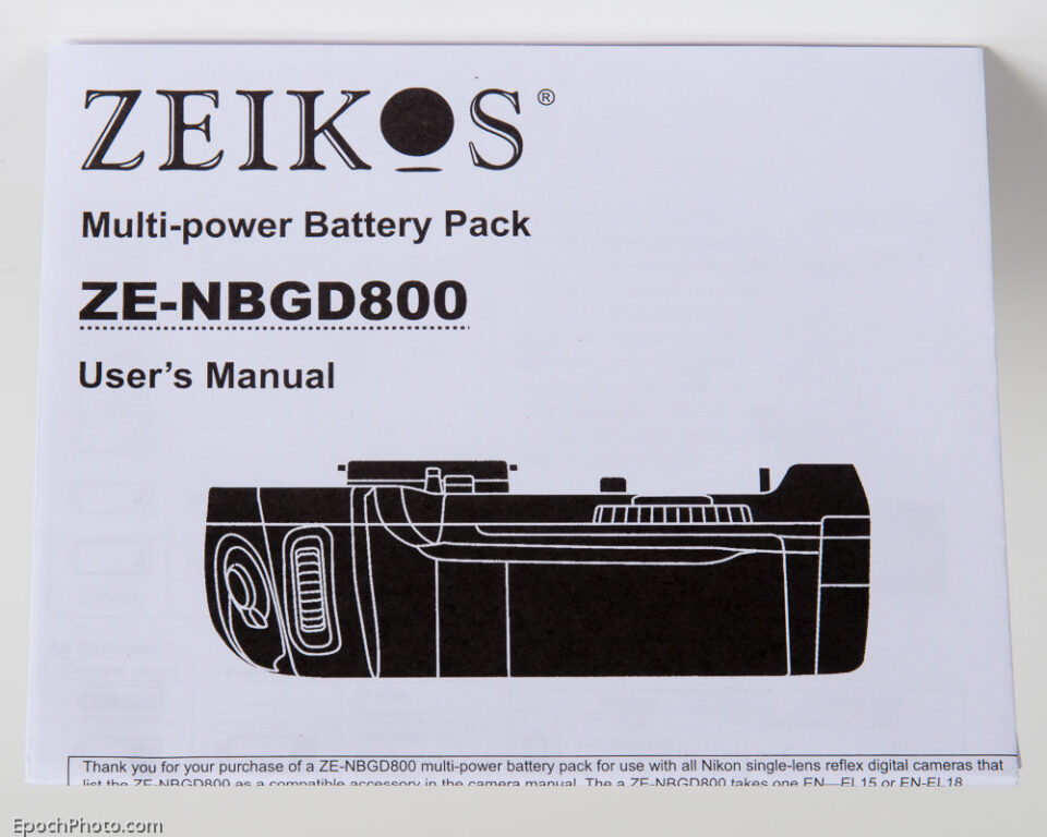 Zeikos_Manual