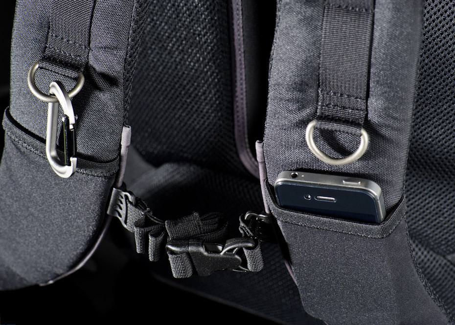 Airport Commuter strap pockets