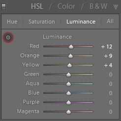 HSL Luminance
