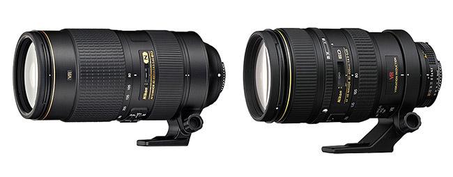 Nikon 80-400mm AF-S vs AF-D