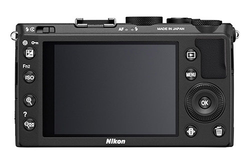 Nikon Coolpix A Back View