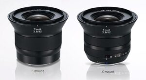 Upcoming Carl Zeiss lenses for Sony E and Fujifilm X mounts