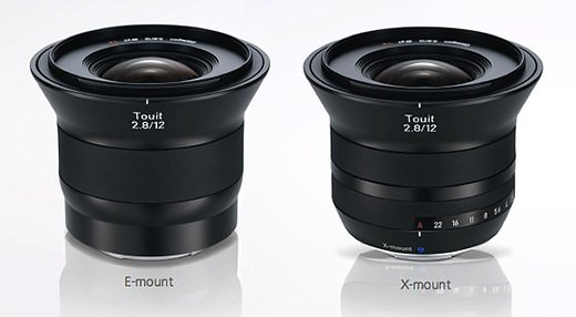 Carl Zeiss Touit 12mm f2.8 Lens