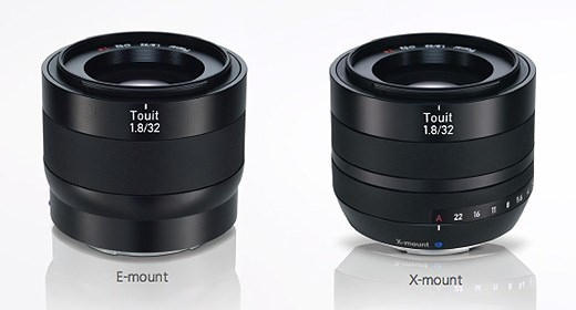 Carl Zeiss Touit 32mm f1.8 Lens