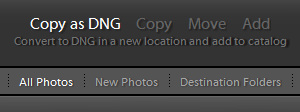 Adobe Photoshop Lightroom Import Settings_1
