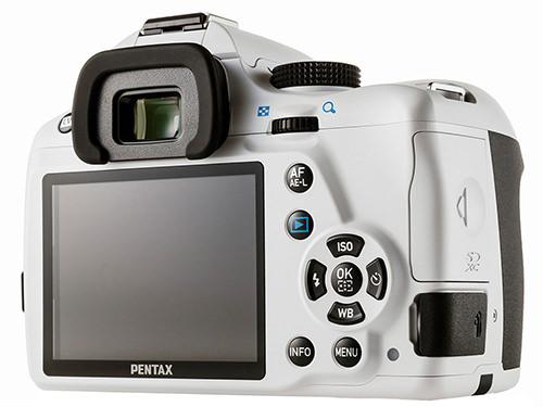 Pentax K-50 Rear
