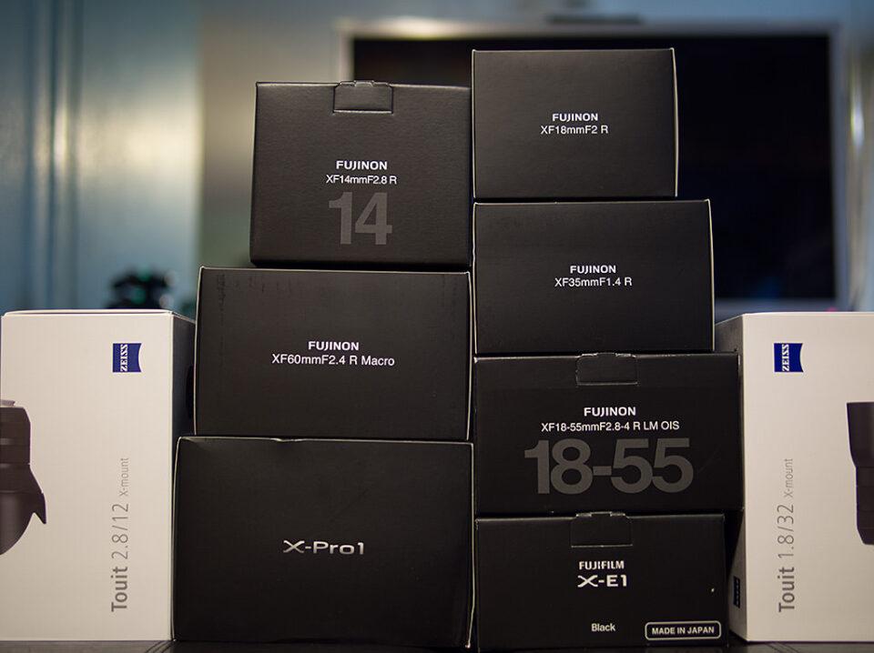 Fuji Cameras and Lenses