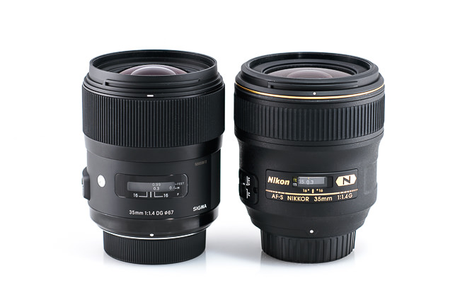 Sigma 35mm f/1.4 vs Nikon 35mm f/1.4G