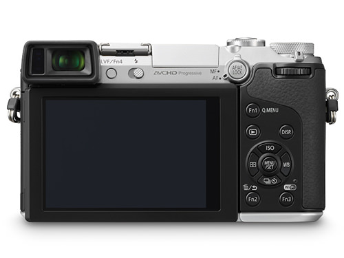 Panasonic Lumix GX7 Silver Rear