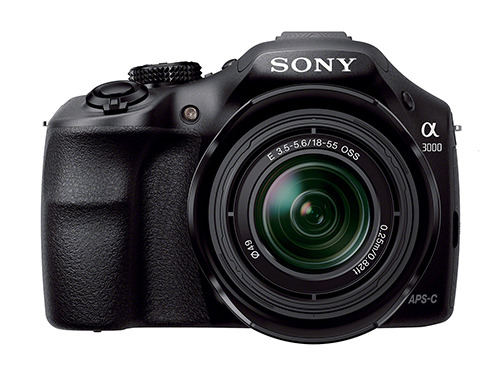 Sony A3000 Front