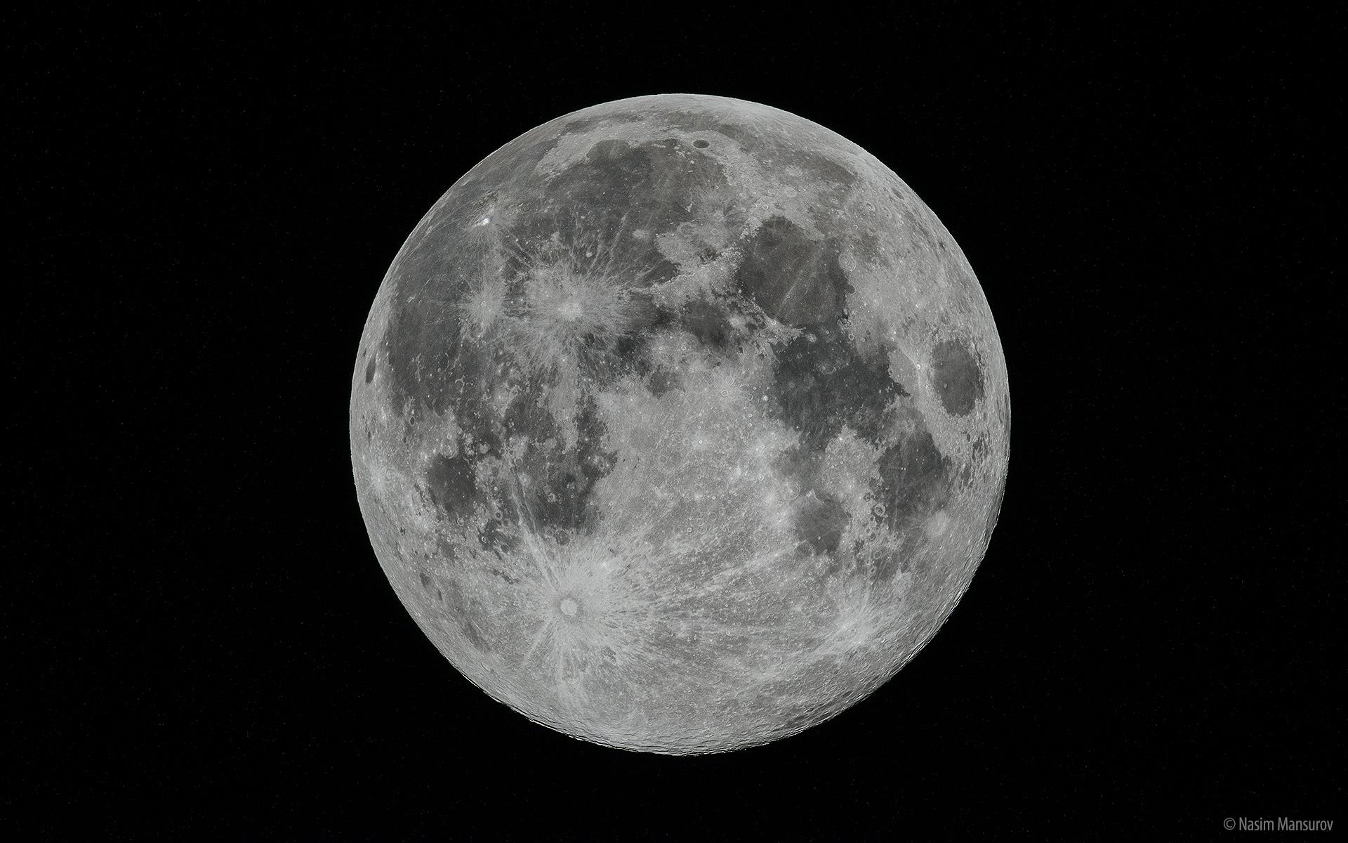 The Full Moon Wallpaper