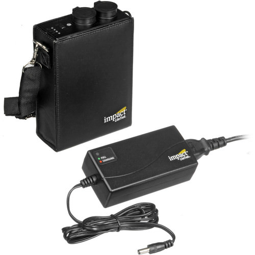 Impact LiteTrek 4.0 DC Two Monolight and Mini LiteTrek (LT) Battery Pack Kit