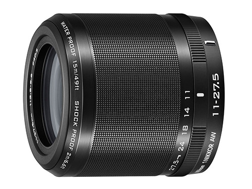 Nikkor 11-27.5mm f3.5-5.6 AW lens