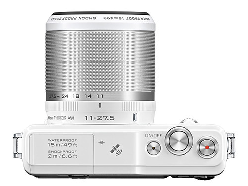 Nikon 1 AW1_top
