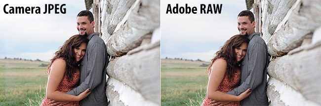 Camera JPEG vs Adobe RAW