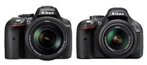 Nikon D5200 vs D5300