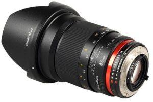 Samyang Lenses for Full-Frame Sony Compact Camera System
