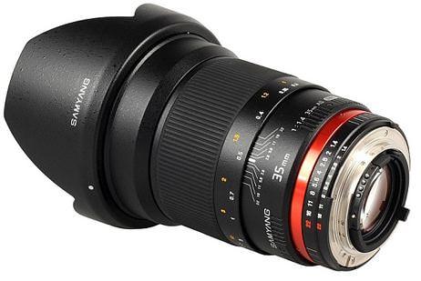 Samyang 35mm f1.4 Lens