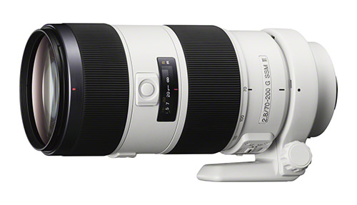 Sony Alpha 70-200mm F2.8 G SSM II Lens