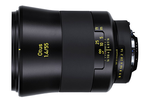 Zeiss Otus 55mm f1.4 Lens ZF.2
