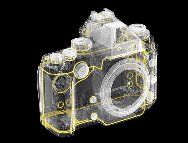 Nikon DF Sealing