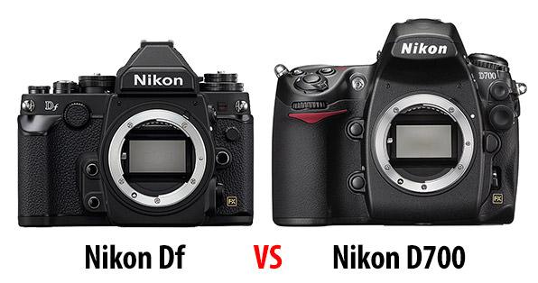 Nikon Df vs D700