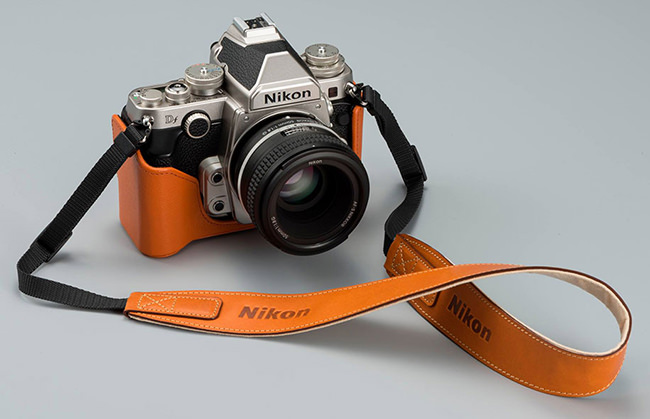 Nikon Df with Leather Case