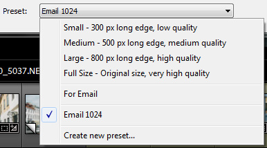 Email Presets