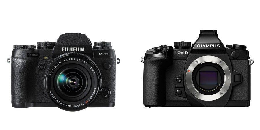 Fujifilm X-T1 vs Olympus OM-D E-M1 Specification Comparison