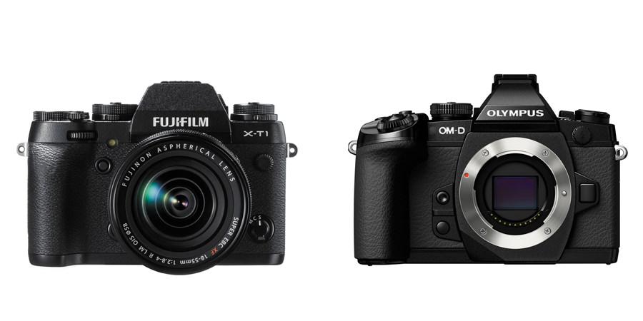 Fuji X-T1 vs Olympus OM-D E-M1