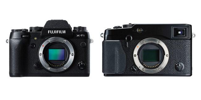 Fuji X-T1 vs X-Pro1