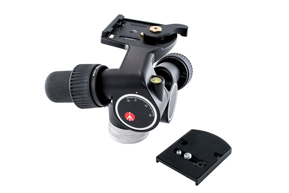 Manfrotto 405 Geared Head and Plate