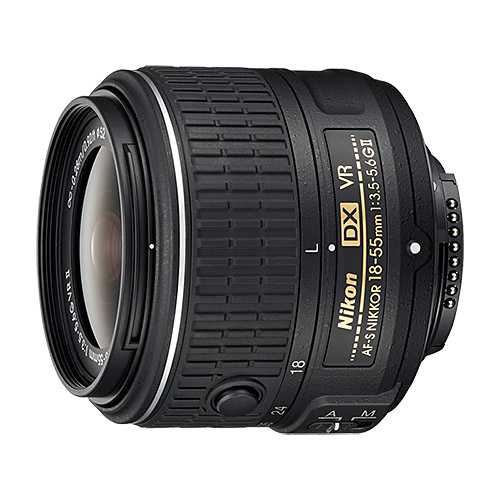 Nikon AF-S DX NIKKOR 18-55mm f/3.5-5.6G VR II