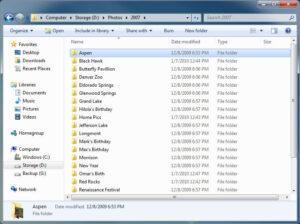 Folder per Event