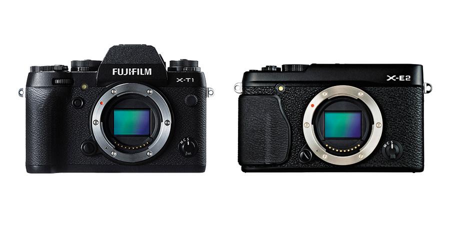 Fuji X-T1 vs X-E2
