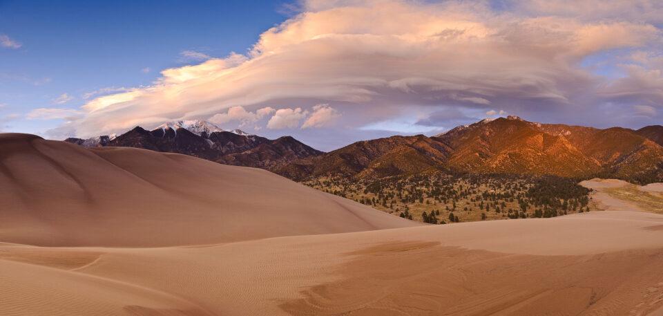 Mount Herard Lenticular Clouds
