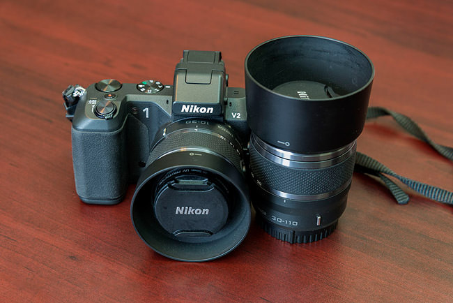 Nikon 1 V2 with Lenses