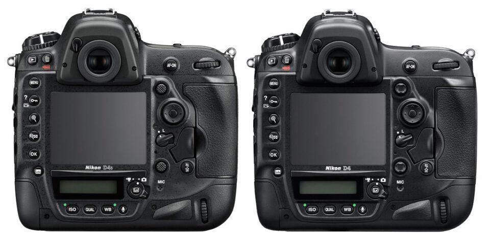 Nikon D4s vs D4 Back