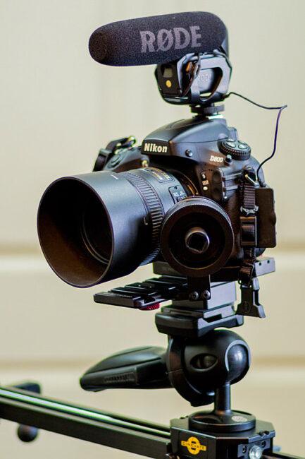 Nikon D800 Video Setup