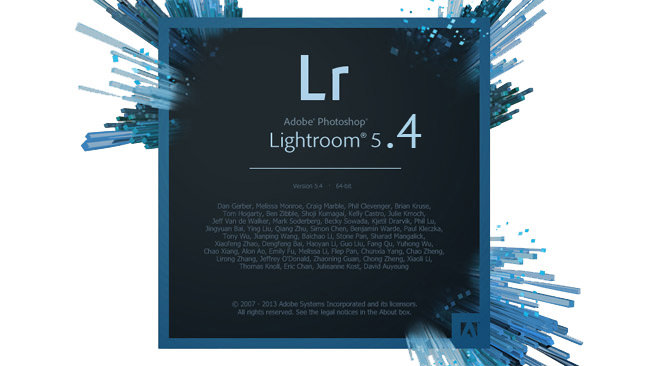 Adobe Photoshop Lightroom 5.4