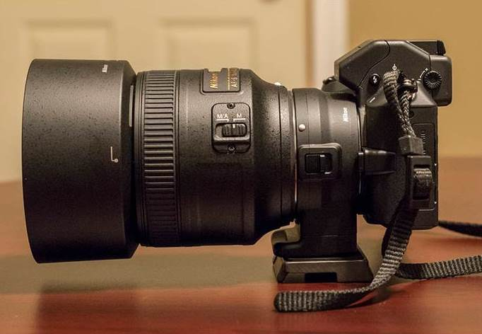 Nikon 1 V2 FT1 Nikkor 85mm f/1.8G