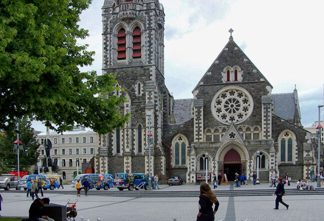 2004 'pre-quake' Christchurch Cathedral
