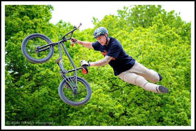 Biker in Air #1