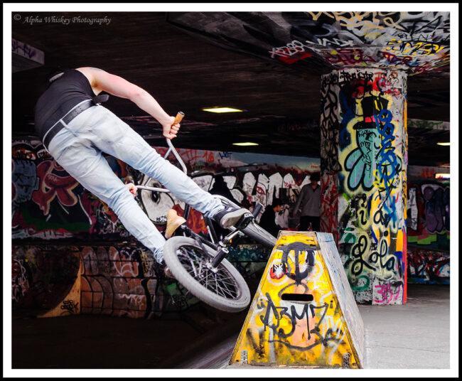 Biker in Motion #1