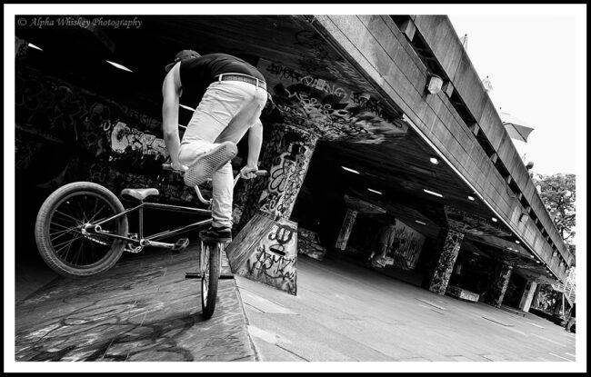 Biker in Motion #2