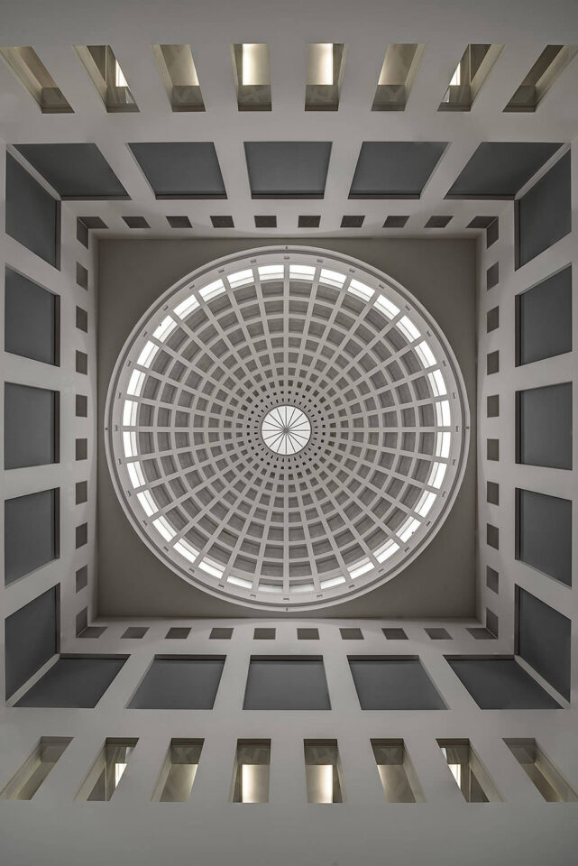 Karlsruhe Dome of the Regional Library